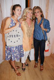Lauren Bush, Sharon Bush and Ashley Bush