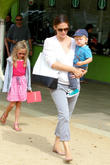 Jennifer Garner, Samuel Affleck and Violet Affleck