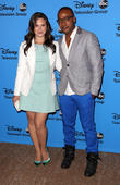 Katie Lowes and Columbus Short