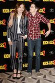 Chloe Grace Moretz and Christopher Mintz- Plasse