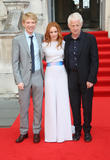 Rachel Mcadams, Domhnall Glleson and Richard Curtis