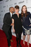 Ricky Whittle, Jerusha Hess and Shannon Hale