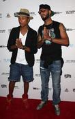 Pharrell Williams and Swizz Beatz