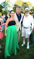 Hilaria Baldwin, Alec Baldwin and Dan Rattiner