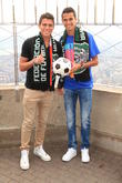 Hector Moreno, from Spanish La Liga's RCD Espanyol, Diego Reyes and Playing for Portuguese Primerira Liga's FC Porto