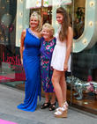Jessica Wright, Carol Wright, Nanny Pat and Natalia Wright