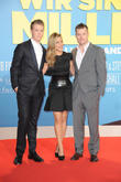 Will Poulter, Jennifer Aniston and Rawson Marshall Thurber