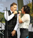 Ricky Ross, Lorraine Mcintosh and Deacon Blue
