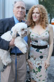 Dick Cavett and Bernadette Peters
