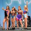 Mollie King, Una Healy, Rochelle Wiseman, Vanessa White, The Saturdays, V Festival