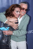 Stan Lee and Chase Masterson