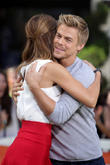 Maria Menounous and Derek Hough