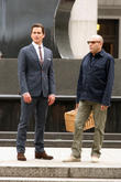 Matt Bomer and Willie Garson