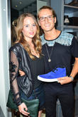 Oliver Proudlock and Rosie Fortescue