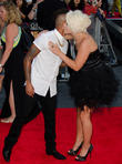 Aston Merrygold and Amelia Lily