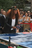 Delta hosts a celebrity table tennis tournament in Madison Square Park