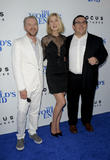 Simon Pegg, Rosamond Pike and Nick Frost
