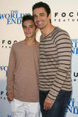 Gilles Marini and son Georges Marini