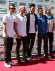 The Wanted, Max George, Siva Kaneswaran, Jay McGuiness, Nathan Sykes and Tom Parker