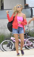 Heidi Klum family day at Venice Beach