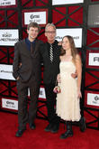 Andy Dick, Lucas Dick and Lena Sved