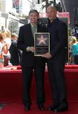 Vin Diesel and Leron Gubler