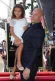 Vin Diesel and Hania Riley
