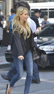 Tish Cyrus seen leaving Barneys