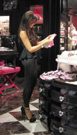Jessica Wright and and final day of her 'With Love Jessica' pop-up fashion boutique