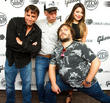 Richard Linklater, Mike White, Miranda Cosgrove and Jack Black