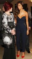 Sharon Osbourne and Nicole Scherzinger
