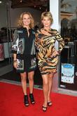 Kristy Swanson and Eva Varro
