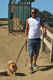 Gavin Rossdale goes hike with his dog