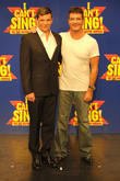 Simon Cowell and Nigel Harman