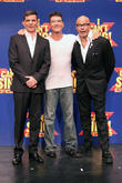 Nigel Harman, Simon Cowell and Harry Hill