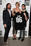 Thomas Keown, Jessica Stam and Benjamin Fainlight
