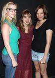 Betty Gilpin, Zoe Kazan and Rebecca Henderson