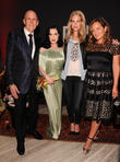 Poppy Delevigne, Jade Jagger and Andrew Jennings