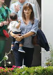 Jennifer Garner and Guest