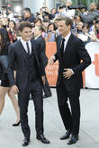 Jeremy Irvine and Colin Firth