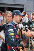 Sebastian Vettel, Germany and Red Bull-renault Rb9 F1 Car -