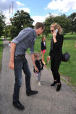 Peter Crouch, Abbey Crouch, Abigail Crouch, Abbey Clancey and Sophia Ruby