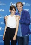 Felicity Jones and Ralph Fiennes