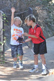 Kingston Rossdale and Zuma Rossdale