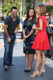 Leah Remini, Tony Dovolani and Maria Menounos