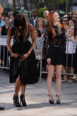 Naomi Campbell and Lydia Hearst