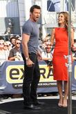 Hugh Jackman and Maria Menounos