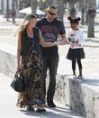 Heidi Klum, Martin Kristen, Santa Monica
