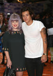 Harry Styles and Kelly Osbourne