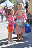 Jennifer Garner, Violet Affleck and Seraphina Affleck